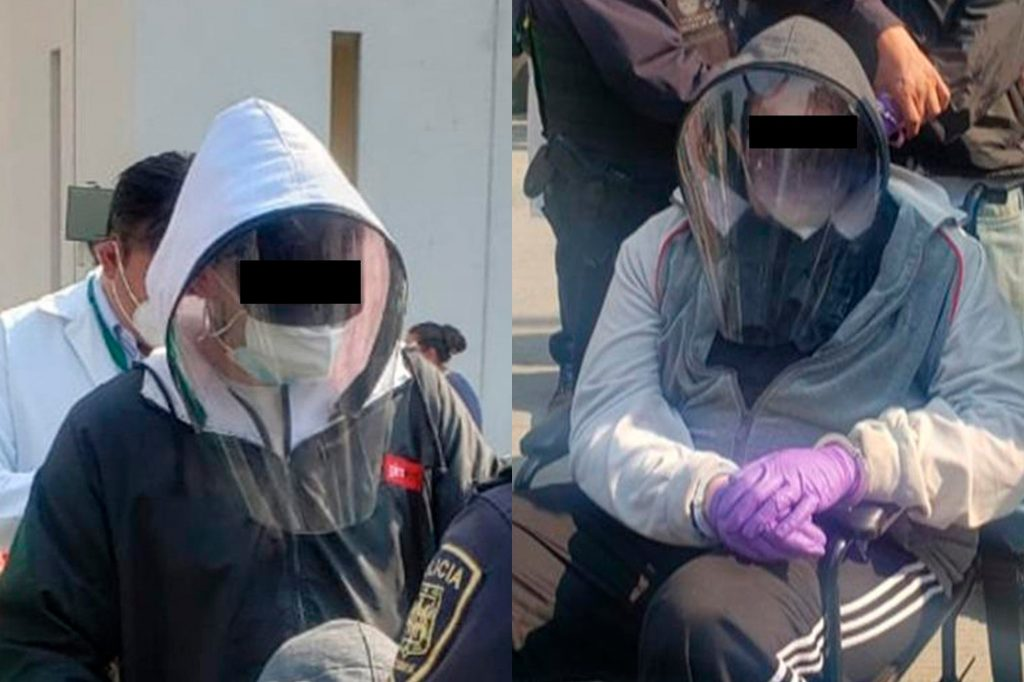 Two Young People Disguised as Grandparents to Get the Covid-19 Vaccine