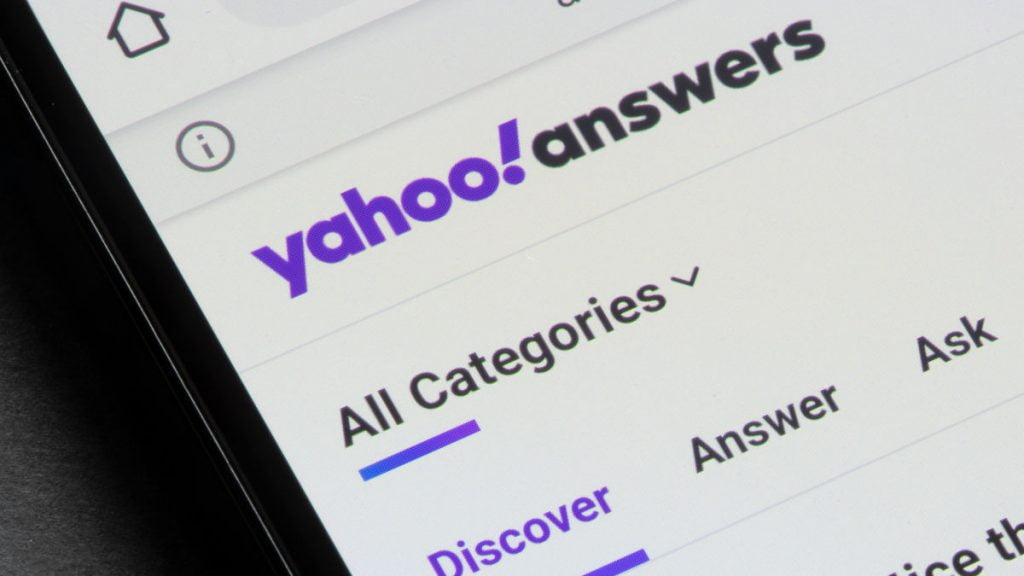 Yahoo Answers Showed Us Exactly How Not to Search For Advice Online