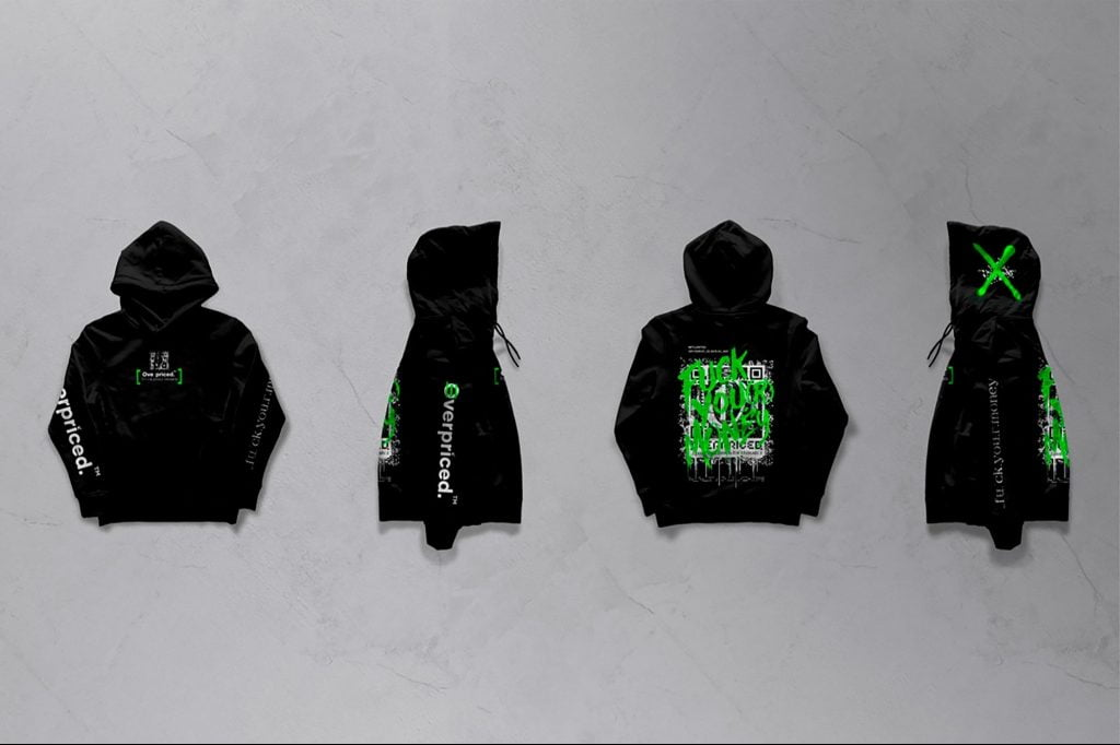The first sweatshirt with NFT technology was sold, that is, as a non-fungible token for 500 thousand pesos