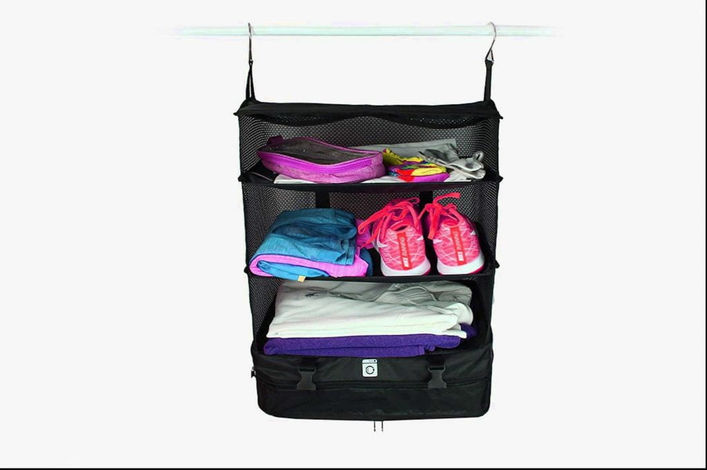 Packing for Summer Vacation Has Never Been Easier With This Closet Baggage Organizer