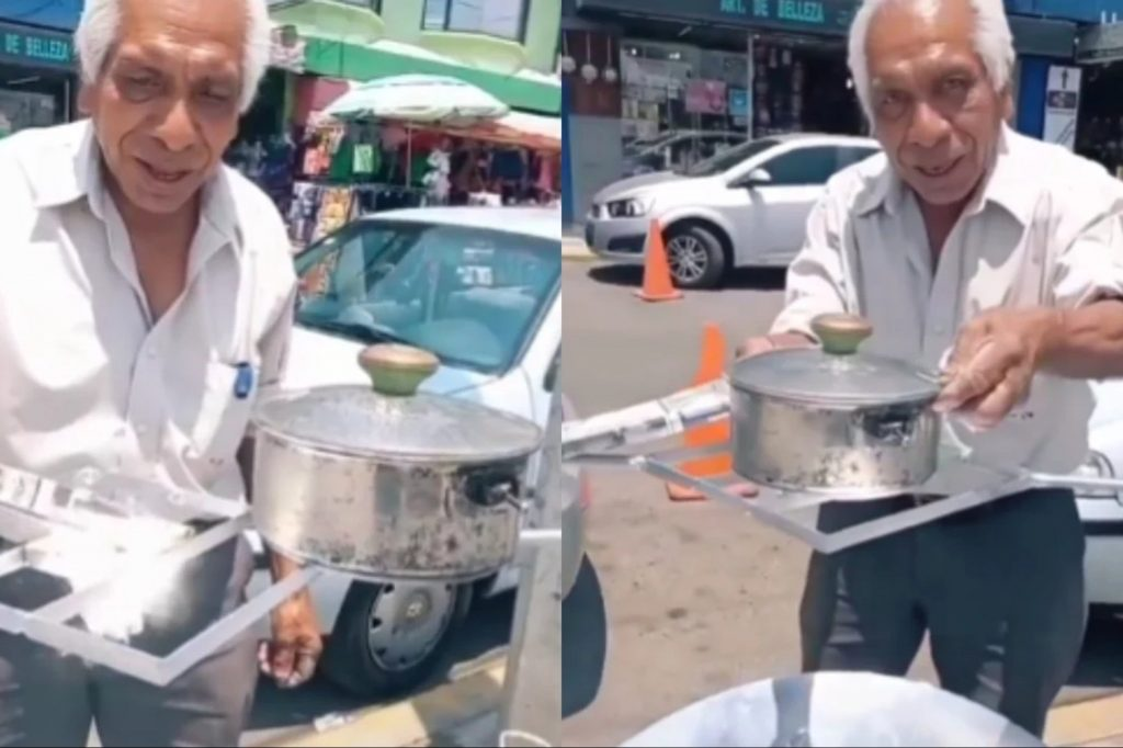 Pride: Don Maximino, 71, created solar stoves that do not pollute