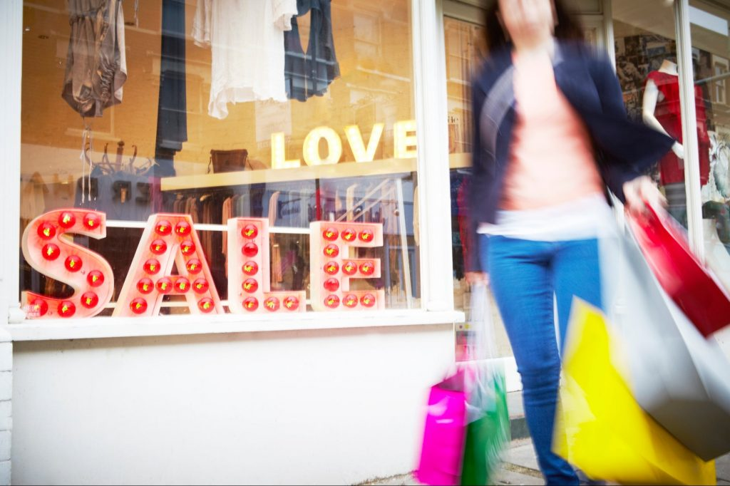 Retail Is Surging -- Here's What Everyone Is Spending Their Stimulus Checks On