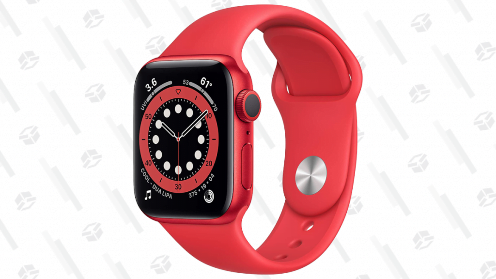 Save $79 on the 40mm Product(RED) Apple Watch Series 6 at Amazon, Just $320