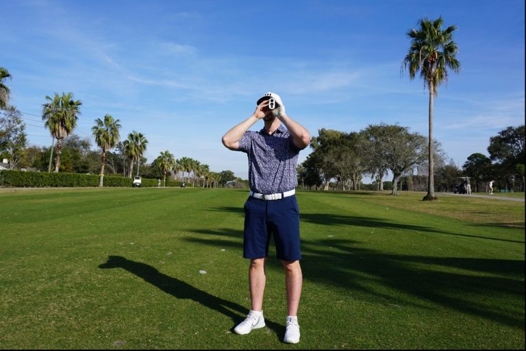 This Accurate Golf Rangefinder Might Help You Close More Deals on the Links