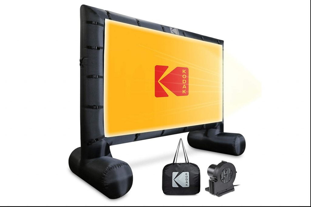 Amp up Movie Night This Summer Outdoors with These Kodak Deals