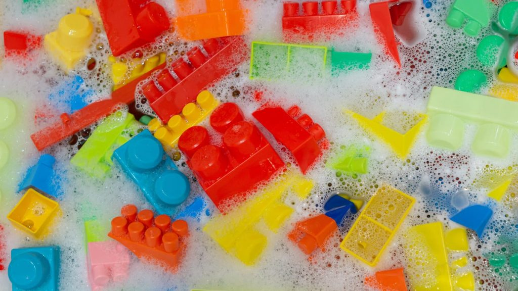 How to Clean Your Kid's LEGO Pieces, Because Think How Gross They Are