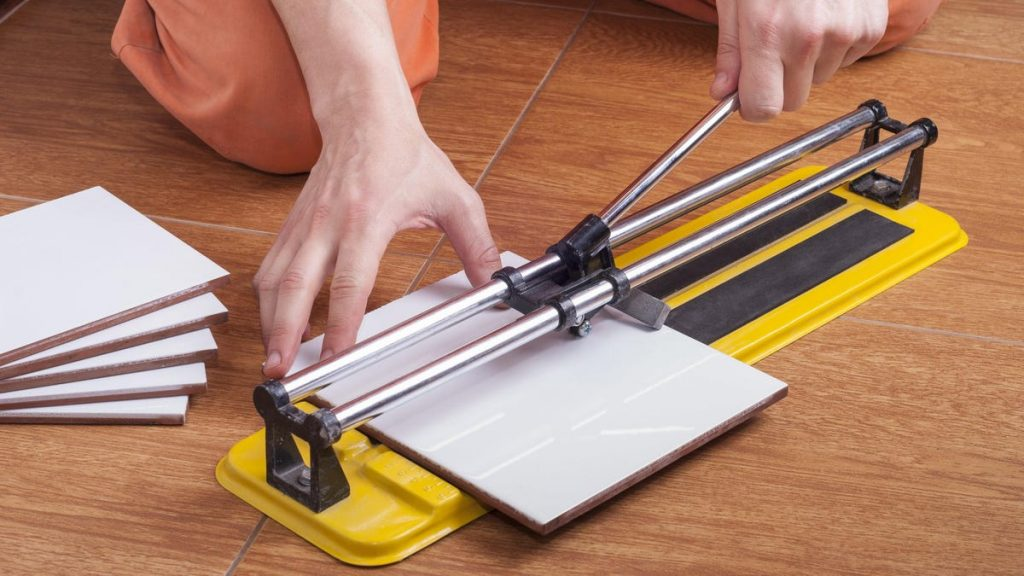 How to Cut Tile Without a Wet Saw