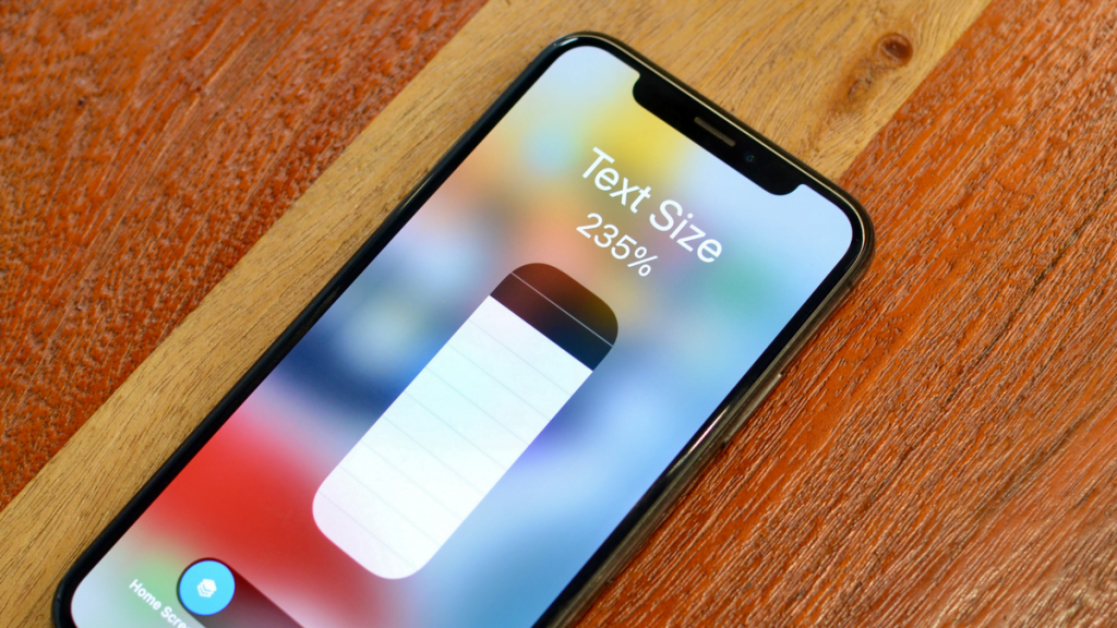 How to Set Unique Text Sizes for Different Apps in iOS 15