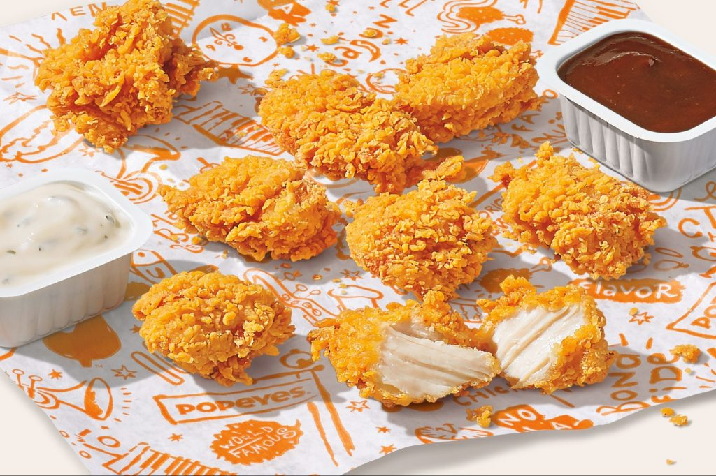 Popeyes is Finally Adding Chicken Nuggets to Its Menu This Month