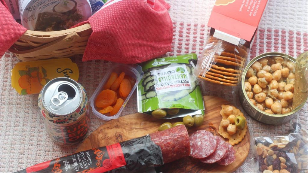 How to Pack a Completely Shelf-Stable Picnic From Trader Joe's