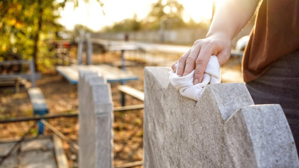 How to Properly Clean a Gravestone